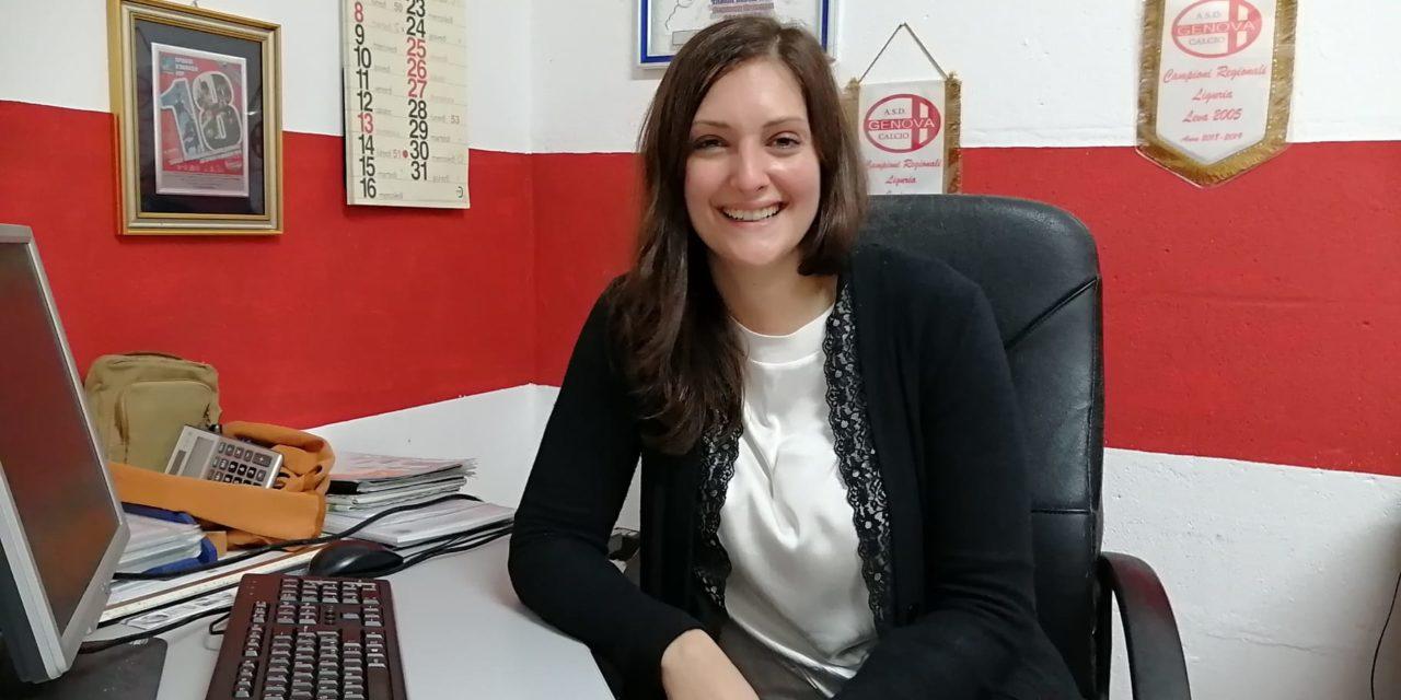 Genova Calcio: allo staff si aggiunge la giovane Giulia De Stefano