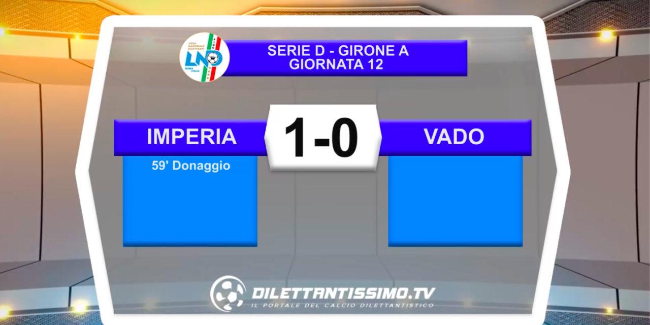 IMPERIA-VADO 1-0 | LE IMMAGINI DEL MATCH E LE INTERVISTE