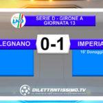 VIDEO   LEGNANO-IMPERIA 0-1: LE IMMAGINI DEL MATCH