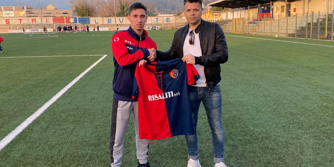 Sestri Levante: concluso l'accordo per il giovane attaccante Luca Scarlino