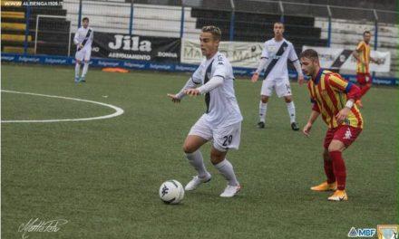 Albenga: il centrocampista Mattia Grandoni trasferito a titolo temporaneo all'Imperia