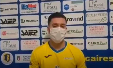 Cairese: ritorna il centrocampista Nicholas Nonnis
