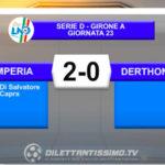 VIDEO IMPERIA-DERTHONA 2-0: LE IMMAGINI DEL MATCH E LE INTERVISTE