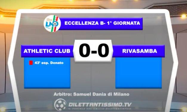 VIDEO|ATHLETIC CLUB-RIVASAMBA 0-0: LE IMMAGINI DEL MATCH E LE INTERVISTE