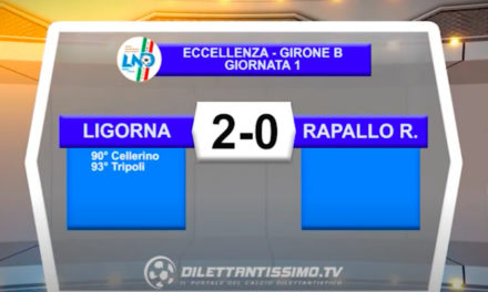 VIDEO|LIGORNA-RAPALLO RIVAROLESE 2-0: LE IMMAGINI DEL MATCH E LE INTERVISTE