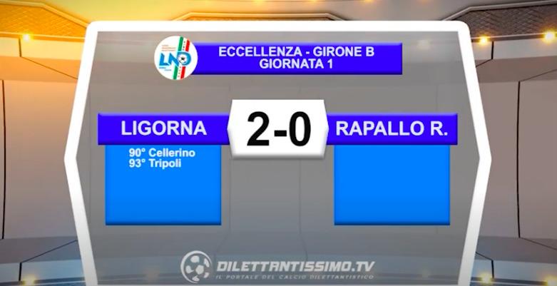 VIDEO|LIGORNA-RAPALLO RIVAROLESE 2-0: LE IMMAGINI DEL MATCH E LE INTERVISTE