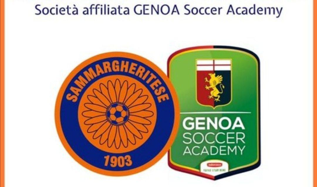 Sammargheritese: continua il rapporto di collaborazione con il Genoa FC