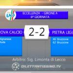 VIDEO| GENOVA CALCIO-PIETRA LIGURE 2-2: LE IMMAGINI DEL MATCH E LE INTERVISTE