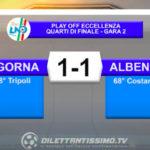 VIDEO| LIGORNA-ALBENGA 1-1: LE IMMAGINI DEL MATCH E LE INTERVISTE