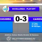 VIDEO| RIVASAMBA-CAIRESE 0-3: LE IMMAGINI DEL MATCH E LE INTERVISTE