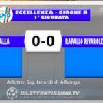BUSALLA – RAPALLO RIVAROLESE 0-0: GLI HIGHLIGHTS DELLA PARTITA E LE INTERVISTE