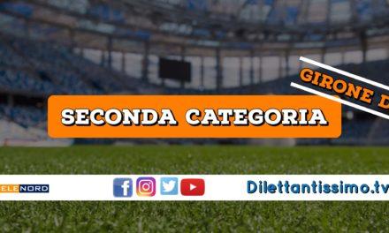 DIRETTA LIVE – SECONDA CATEGORIA GIRONE D, 1ª GIORNATA: RISULTATI E CLASSIFICA
