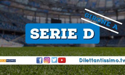 DIRETTA LIVE – SERIE D GIRONE A, 6ª GIORNATA: RISULTATI E CLASSIFICA