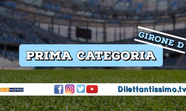 DIRETTA LIVE – PRIMA CATEGORIA D, 3ª GIORNATA: RISULTATI E CLASSIFICA