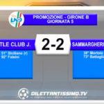 LITTLE CLUB JAMES-SAMMARGHERITESE 2-2: GLI HIGHLIGHTS DELLA PARTITA