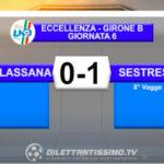 MOLASSANA-SESTRESE 0-1: GLI HIGHLIGHTS DELLA PARTITA