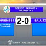 SANREMESE SALUZZO 2-0: GLI HIGHLIGHTS DELLA PARTITA